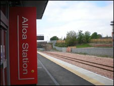 Alloa Train Station