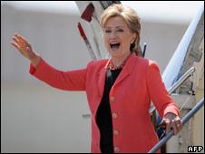 Senator Clinton in West Virginia 13 May