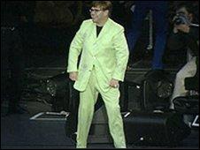 Elton John at Stormont