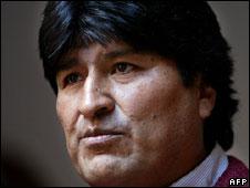 Bolivia's President Evo Morales
