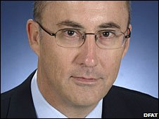 High Commissioner James Batley, Australian government image