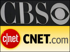 CBS and CNET logos