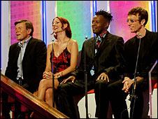Richard Park, Carrie Grant, David Grant and Robin Gib