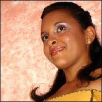Betsaida Morillo, votante dominicana
