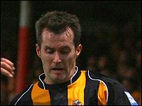 U's striker Lee Boylan