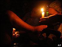 Corte del suministro el�ctrico en Rep�blica Dominicana