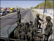 Extra Mexican troops have been sent to Ciudad Juarez