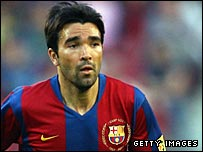 Deco joined Barcelona from Portuguese side Porto in 2004