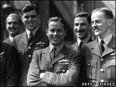Members of the Dambusters squad