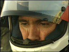 Robert Dunlop pictured before the race