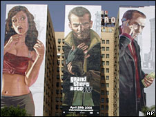 Advert for GTA IV