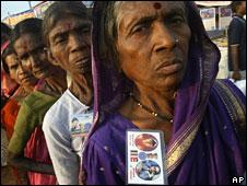 Dalit women in India