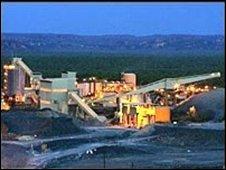 Rio Tinto plant in Australia