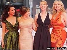 The Sex and the City stars at the film's German premiere
