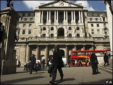 Shot of the Bank of England