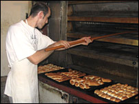 Bakery in Pristina, Kosovo