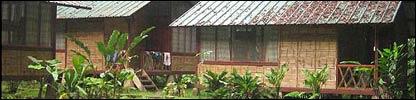 Estación científica en el Parque Nacional Yasuní