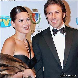 Sonia and Alessandro del Piero