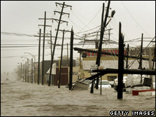 Hurricane flood and wind damage (Getty Images)