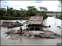 Sobrevivientes del ciclón Nargis
