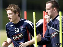 Steven Davis and Charlie Adam could face Motherwell on Saturday