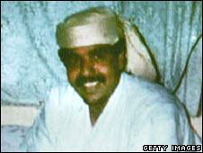 File pic of Guantanamo detainee Salim Ahmed Hamdan