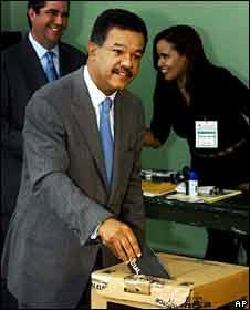 Dominican President Leonel Fernandez