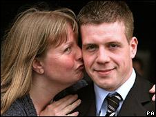 Tom Bardsley and his mother, Karen