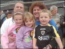 Trudi Kenwood, Alan Browning and their children