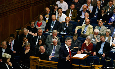 Gordon Brown at the General Assembly