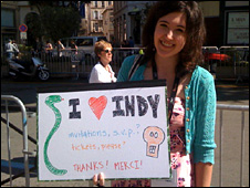 Indiana Jones fan Amelia