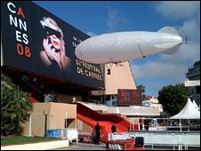Zeppelin at Indiana Jones screening