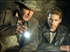 Harrison Ford and Shia LeBeouf