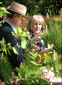 Judges at the Chelsea Flower Show
