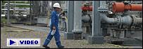 Planta petrolera en Ecuador
