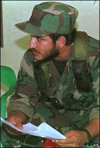 Iván Ríos, comandante de las FARC asesinado por uno de sus hombres.