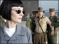 Cate Blanchett y Harrison Ford