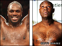Audley Harrison (left) and Matt Skelton