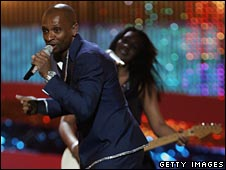 Andy Abraham performs Even If, the UK's 2008 Eurovision entry