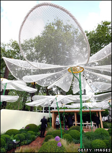 Flower sculpture at the Chelsea Flower Show