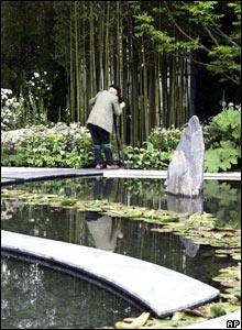 Arabella Lennox-Boyd's Japanese-inspired garden for the Daily Telegraph