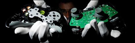 Game controllers Copyright: Will Rose Greenpeace