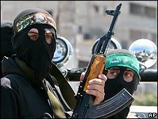 Hamas gunmen (archive image)