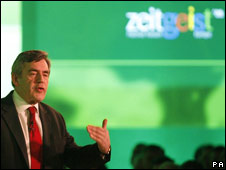 Gordon Brown at Zeitgeist conference