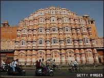 Hawa Mahal en Jaipaur, Rajast�n