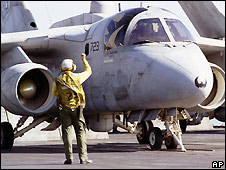 US Navy S-3B Viking - file photo