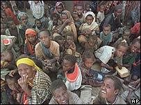 Niños etíopes.