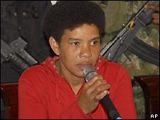 Nelly Avila Moreno, aka Karina, in Medellin, Colombia - 19/5/2008
