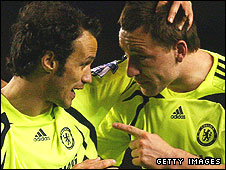 Ricardo Carvalho and John Terry