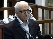Tariq Aziz in court